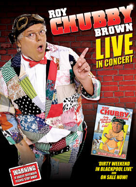Roy Chubby Brown Leicester Show Tickets